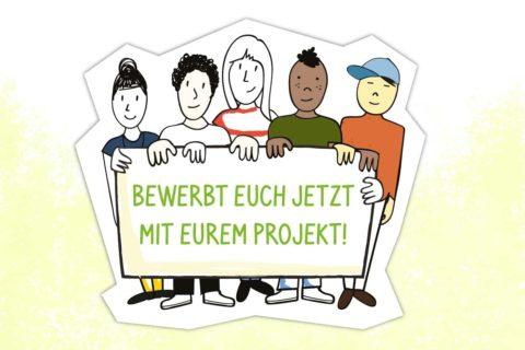 Illustration Jugend Engagement Wettbewerb