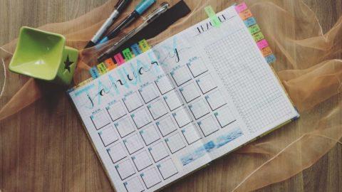 Symbolbild eines Kalenders